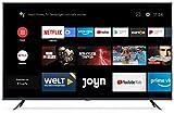 Xiaomi Mi Smart TV 4S 65' (4K Ultra HD, Triple Tuner, Android TV 9.0, Fernbedienung mit Mikrofon &...