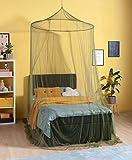 RSP Moskitonetz Home Olive mit 1,40 Durchmesser Spannring unten 15,5 m Umfang (runde Form) (Home)
