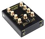 Pronomic DX-10 MKII DJ Mixer - kompakter 2-Kanal-DJ-Mixer mit zwei Line-Eingängen und 2-Band...