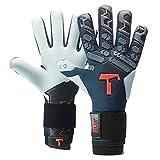 T1TAN Petrol Beast 2.0 Torwarthandschuhe mit Fingerschutz, Fußballhandschuhe Herren & Damen - 4mm...