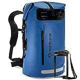 Earth Pak Summit Serie wasserdichter Rucksack, Backpack mit leistungsstarkem Reißverschluss und...