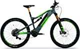 TechniBike VOTARO FS 27,5 Zoll E-Bike (Pedelec, Elektrofahrrad, Full Suspension Mountainbike, 600Wh...