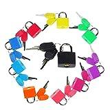 DBREAKS 10 pcs Farbige Kofferschloss Miniverhängeschloss Messing Schloss verwendet von Taschen zu...