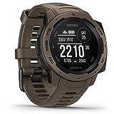 Garmin Instinct Tactical - robuste GPS-Smartwatch mit taktischen Funktionen. US-Militärstandard und...