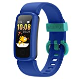 BIGGERFIVE Vigor Fitness Armband Uhr für Kinder Mädchen Junge Teenager, Fitness Tracker Smartwatch...