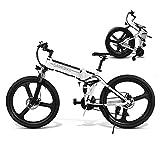 Coolautoparts Elektrofahrrad Ebike Mountainbike Klapprad 26 Zoll mit 48V Lithium-Akku 350 W Motor...