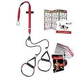 Variosling® Sling Trainer mit Umlenkrolle mit Griffschlaufen inkl. 2X Schlingentrainer DVD,...