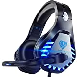 Pacrate Gaming Headset für PC, PS4, PS5, Xbox One, Xbox Series X, Laptop, 3.5mm Kopfhörer Kinder...