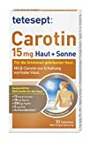 tetesept Carotin 15 mg Haut + Sonne – Haut Vitamine für die Schönheit gebräunter Haut –...