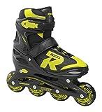 Roces Jungen Jokey 2.0 Boy Inline-Skates, Black-Lime, 30-33