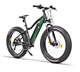 Fitifito FT26 Elektrofahrrad Fatbike E-Bike Pedelec, 48V 250W Bafang Cassette Heckmotor, 48V 13Ah...