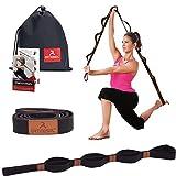 arteesol Yogagurt mit 10 Schlaufe Gymnastik-Gurt für Stretch Übungs, Schmerztherapie, Yoga und...