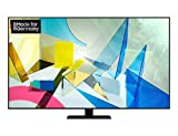 Samsung QLED 4K Q80T 189 cm (75 Zoll) (Quantum Prozessor 4K, Direct Full Array, Quantum HDR 1500)...