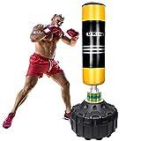 U'King Boxsack Freistehender Standboxsack Boxpartner Boxing Trainer Heavy Duty Boxsack Set Stehend...
