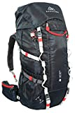 NORDKAMM Trekking-Rucksack, Backpacker Rucksack, 50l - 60l, blau, Damen/Herren