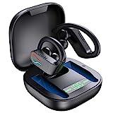 Bluetooth 5.1 Kopfhörer Sport IPX7 Wasserdicht Kabellose Sportkopfhörer In Ear Wireless Earbuds...