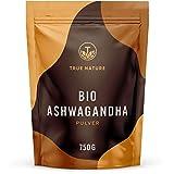 TRUE NATURE® Bio Ashwagandha Pulver (750g) - Recycelbarer Beutel - Indische Bio Schlafbeere...