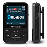 Oakcastle MP100 8GB MP3-Player mit Bluetooth, Radio und langlebigem Akku, zum Joggen, für den...