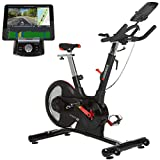 HAMMER Speed Racer S, Speedbike, Indoor Cycle, 22 kg Schwungmasse, LCD-Screen + APP-Steuerung für...