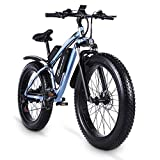 sheng milo MX02S 1000W Elektrofahrrad Elektrisches Mountainbike 26-Zoll-Fettreifen E-Bike 21...