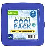 [Neu] Kühlakku im extra Dünnen Format für Lunchboxen – Schnell gefrierend und langanhaltende...