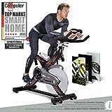 Sportstech Profi Indoor Cycle SX400– Deutsche Qualitätsmarke - mit Video Events & Multiplayer...