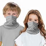 Halstuch, Gesichtsmaske, für Kinder, 2 Stück, Bandana, Gesichtsmaske, atmungsaktiv,...