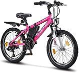 Licorne Bike Guide Premium Mountainbike in 20 Zoll - Fahrrad für Mädchen, Jungen, Herren und Damen...
