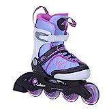 K2 Skates Mädchen Inline Skate Cadence Jr Girl — white - light blue - pink — S (EU: 29-34 / UK:...