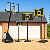 FORZA verstellbares Basketballreifen- und Standsystem | 4 Größen | Optionale Extras erhältlich...