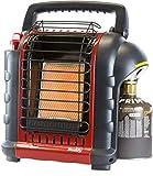 Mr. Heater Portable Buddy Gasheizung inkl. Adapter für Gaskartuschen mit 7/16-Gewinde, bis zu 2,4kW...