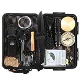 Lixada Survival Kit 27 in 1 Emergency Überleben Set Multi-Tools Erste Hilfe Versorgung für Camping...