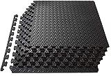 Schutzmatten Set 30x30 Bodenschutzmatte 20er Puzzlematte groß Pool Unterlegmatten Fitnessmatten für den Fitnessraum oder Keller