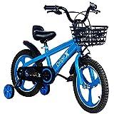 Dripex Kinderfahrrad 16 Zoll ab 4-8 Jahre Jungen & Mädchen Fahrrad für Kinder Laufrad mit Korb,...