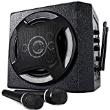 TONOR PA System Karaoke Maschine mit drahtlosen Bluetooth Lautsprecher Funkmikrofon für Familien...