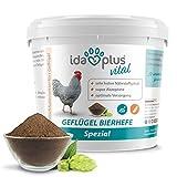 Ida Plus - Geflügel Bierhefe Spezial - 1500 g - Futterergänzung für Hühner, Wachteln & anderes...