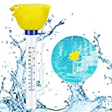 Familybox Schwimmende Pool Thermometer, Poolthermometer Wassertemperatur Mit String & Bruchfest...