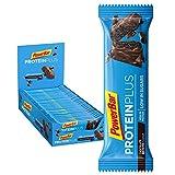 PowerBar Protein Plus Riegel mit nur 107 Kcal - Low Sugar Eiweissriegel, Fitnessriegel mit...