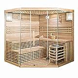 Home Deluxe - Traditionelle Sauna - Skyline XL Big - Holz: Hemlocktanne - Maße: 200 x 200 x 210 cm...