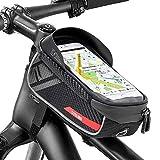 Jooheli Fahrrad Rahmentasche, Wasserdicht Rahmentasche Fahrrad Rahmentasche mit TPU-Touchscreen,...