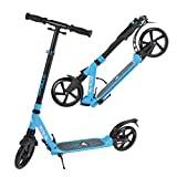 Apollo 200mm Wheel City Scooter - Spectre Pro Luxus City Scooter mit Doppel Federung, City-Roller...