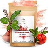 VEGANTY® Premium Vitamin C Pulver hochdosiert - Acerola Pulver - Vitamin C 1000mg - veganes...