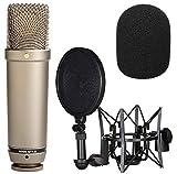 Rode NT1-A Mikrofon Vocal Recording Set + WS2 Schaumstoff Popschutz Windschutz