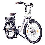 NCM Munich 26' E-Bike City Rad, 250W, 36V 13Ah 468Wh weiß