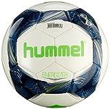 hummel Erwachsene Energizer FB Fussball, White/Vintage Indigo/Green, 5