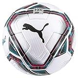 PUMA Unisex– Erwachsene teamFINAL 21.1 FIFA Quality Pr Fußball, White-Rose Red-Ocean Depths...