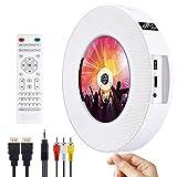 DVD/CD Bluetooth Player CD Player, Tragbar an der Wand montierbar CD/DVD Player, HDMI-kompatibel...