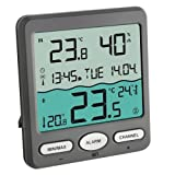 TFA Dostmann Venice Poolthermometer, 30.3056.10, zur Überwachung der Wassertemperatur in Pool,...