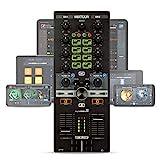 Reloop Mixtour – Portabler USB All-In-One DJ Controller mit integrietem Audio Interface,...