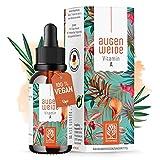 Vitamin A Tropfen hochdosiert - Einführungspreis - 5000 I.E (1500 µg) je Tagesdosis - Vegan -...